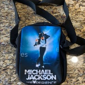 Michael jackson cross body bag